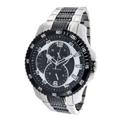 """Zegarki męskie: Zegarek """"CAP-1103213.E"""" w kolorze srebrno-czarnym"""