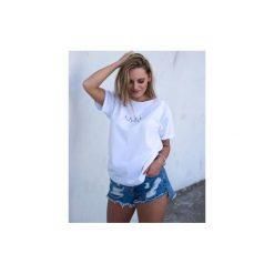 LESS t-shirt oversize. Białe t-shirty damskie Gau great as you, l, z bawełny. Za 99,00 zł.
