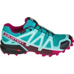 Salomon Buty damskie Speedcross 4 GTX W Ceramic/Aruba Blue/Sangria r. 37 1/3 (394667). Czarne buty sportowe damskie marki Salomon, z gore-texu, na sznurówki, outdoorowe, gore-tex. Za 397,78 zł.