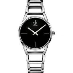 ZEGAREK CALVIN KLEIN STATELY K3G23121. Czarne zegarki damskie marki Calvin Klein, szklane. Za 1059,00 zł.