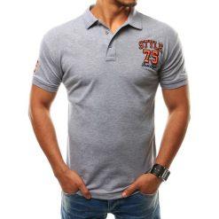 Koszulki polo: Koszulka polo męska szara (px0114)
