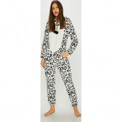 Etam - Kombinezon piżamowy Orlando. Szare piżamy damskie Etam, l, z dzianiny, z długim rękawem. Za 219,90 zł.