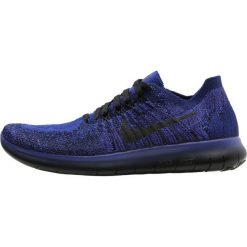 Nike Performance FREE RUN FLYKNIT 2 GS Obuwie do biegania neutralne deep royal blue/black/persian violet/pink blast/hyper grape. Niebieskie buty do biegania damskie Nike Performance, z gumy. W wyprzedaży za 281,40 zł.