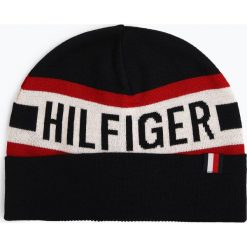 Tommy Hilfiger - Czapka męska, niebieski. Niebieskie czapki męskie TOMMY HILFIGER. Za 179,95 zł.