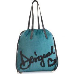 Torebka DESIGUAL - 18WAXF89 4031. Niebieskie torebki klasyczne damskie Desigual, z materiału. W wyprzedaży za 209,00 zł.