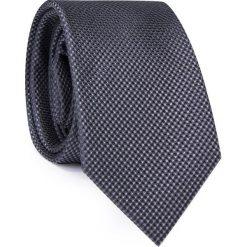 Jedwabny krawat KWSR000293. Szare krawaty męskie Giacomo Conti, z jedwabiu. Za 129,00 zł.