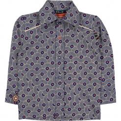 """Koszula """"Rags 'n' Run"""" w kolorze granatowo-białym. Niebieskie koszule chłopięce marki 4FunkyFlavours Kids, z klasycznym kołnierzykiem. W wyprzedaży za 82,95 zł."""