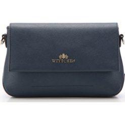 Torebka damska 85-4E-443-7. Niebieskie torebki klasyczne damskie Wittchen, w paski. Za 349,00 zł.
