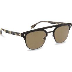 Okulary przeciwsłoneczne BOSS - 0968/S Matt Black 003. Czarne okulary przeciwsłoneczne damskie aviatory Boss. W wyprzedaży za 619,00 zł.