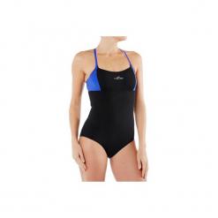 Strój jednoczęściowy do aquafitness Meg damski. Czarne stroje jednoczęściowe marki NABAIJI, moda ciążowa. W wyprzedaży za 39,99 zł.