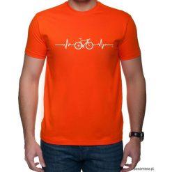 Koszulka T-SHIRT EKG szosa Red. Czerwone t-shirty męskie z nadrukiem Pakamera, m. Za 75,00 zł.