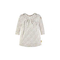 Steiff  Girls Sukienka - biały - Gr.Moda (6 - 24 miesięcy ). Białe sukienki niemowlęce marki Steiff, z aplikacjami, z bawełny. Za 199,00 zł.