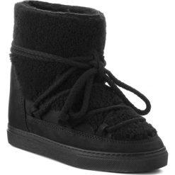 Buty INUIKII - Sneaker Curly 70203-16-W Black/Blk Cot.Lac. Czarne buty zimowe damskie Inuikii, z materiału, na niskim obcasie. Za 1349,00 zł.