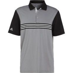 Adidas Golf ULTIMATE365 ENGINEERED POLO Koszulka sportowa grey/black. Szare koszulki polo adidas Golf, m, z elastanu, na golfa. Za 269,00 zł.