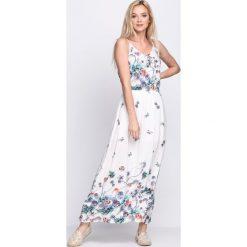 Sukienki: Biała Sukienka Cream Rolls