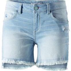 """Bermudy damskie: Dżinsowe szorty """"Monroe"""" w kolorze błękitnym"""