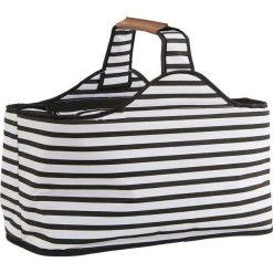 Torba piknikowa chłodząca House Doctor paski. Szare torby plażowe House Doctor, z materiału. Za 111,00 zł.