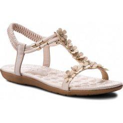 Sandały damskie: Sandały JENNY FAIRY – WP01-1603-01 Beżowy