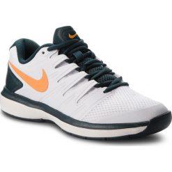 Buty NIKE - Air Zoom Prestige Cpt AA8026 180 White/Oragne Peel. Białe buty do fitnessu damskie Nike, z materiału, nike zoom. W wyprzedaży za 379,00 zł.