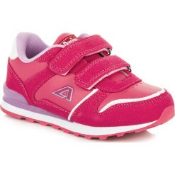 Dziewczęce buciki na rzep STEPHANIE. Czerwone buty sportowe dziewczęce marki American CLUB. Za 79,00 zł.