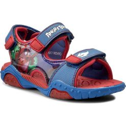 Sandały ANGRY BIRDS - CP44-5093RV Niebieski. Niebieskie sandały męskie skórzane marki Angry Birds. Za 79,99 zł.