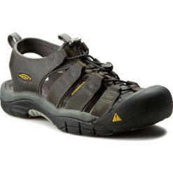 Sandały męskie skórzane: Sandały KEEN – Newport 1010122 Neutral Gray/Gargoyle