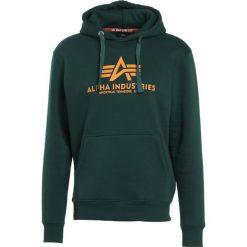 Bejsbolówki męskie: Alpha Industries BASIC HOODY Bluza z kapturem dark petrol