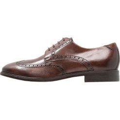 Ecco MELBOURNE Eleganckie buty cocoa brown. Brązowe buty wizytowe męskie ecco, z materiału, na sznurówki. Za 569,00 zł.
