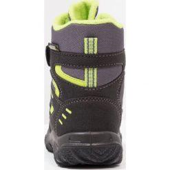 Superfit HUSKY Śniegowce schwarz. Czarne buty zimowe chłopięce marki Superfit, z materiału. W wyprzedaży za 194,35 zł.