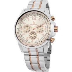 """Zegarki męskie: Zegarek """"Washington"""" w kolorze srebrno-różowozłotym"""