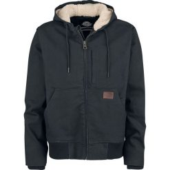 Dickies Farnham Kurtka zimowa czarny. Szare kurtki męskie zimowe marki Dickies, z bawełny. Za 509,90 zł.