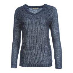Swetry klasyczne damskie: Timeout Sweter Damski M Niebieski