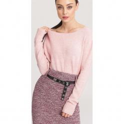Różowy Sweter Hope. Czerwone swetry klasyczne damskie other, l. Za 79,99 zł.