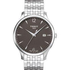 PROMOCJA ZEGAREK TISSOT T - CLASSIC T063.610.11.067.00. Szare zegarki męskie TISSOT, ze stali. W wyprzedaży za 1139,60 zł.