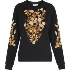 Swetry klasyczne damskie: Whistles BELIZE FLORAL Sweter black