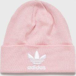 Adidas Originals - Czapka. Szare czapki damskie adidas Originals, na zimę. W wyprzedaży za 69,90 zł.