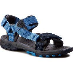 Sandały męskie: Sandały JACK WOLFSKIN - Kids Seven Seas 4003392 Wave Blue M