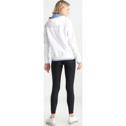 Bluzy rozpinane damskie: Kappa CHLOE Bluza z kapturem white