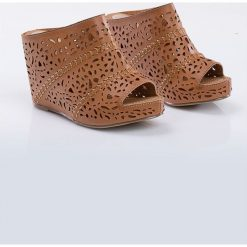 Rzymianki damskie: Ażurowe sandały