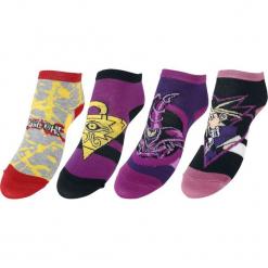 Yu-Gi-Oh! Yu-Gi-Oh! Youth Ankle Socks Skarpetki wielokolorowy. Szare skarpetki męskie Yu-Gi-Oh!. Za 74,90 zł.