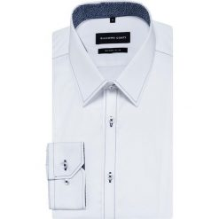 Koszula MICHELE KDBE000437. Niebieskie koszule męskie na spinki marki Giacomo Conti, m, z tkaniny, klasyczne. Za 259,00 zł.