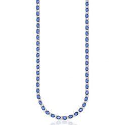 Naszyjniki damskie: Naszyjnik – złoto białe 585, Diament 0,85ct…