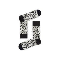 Skarpetki Happy Socks - Twisted Smile (TSM01-9000). Szare skarpetki męskie Happy Socks, w kolorowe wzory, z bawełny. Za 34,90 zł.
