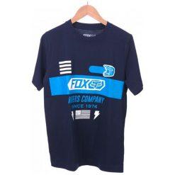 FOX T-Shirt Chłopięcy Osage Ss Tee 140 Ciemnoniebieski. Niebieskie t-shirty chłopięce FOX. W wyprzedaży za 69,00 zł.