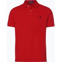 Polo Ralph Lauren - T-shirt męski, czerwony. Czerwone koszulki polo Polo Ralph Lauren, l, z bawełny. Za 449,95 zł.