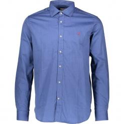 Koszula w kolorze niebieskim. Niebieskie koszule męskie marki U.S. Polo Assn., m, z haftami, z bawełny, button down. W wyprzedaży za 195,95 zł.