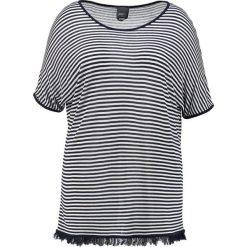 T-shirty damskie: Persona by Marina Rinaldi AGNESE STRIPED  Tshirt z nadrukiem blue marino