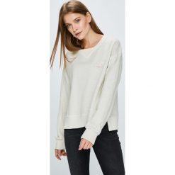 Pepe Jeans - Bluza. Szare bluzy rozpinane damskie Pepe Jeans, l, z bawełny, bez kaptura. W wyprzedaży za 199,90 zł.