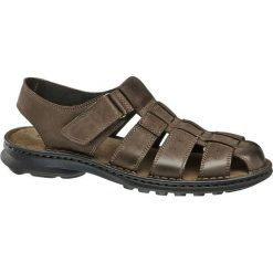 Sandały damskie: sandały męskie Claudio Conti brązowe