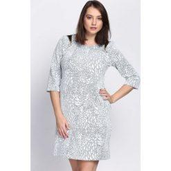Biała Sukienka Work For. Białe sukienki hiszpanki Born2be, midi. Za 49,99 zł.